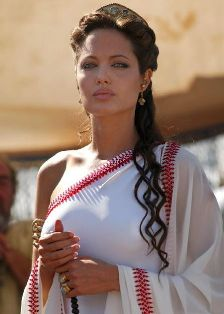 """Angelina Jolie in """"Alexander"""" als Olympias"""