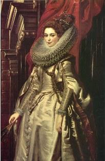 Barockmode - Frau