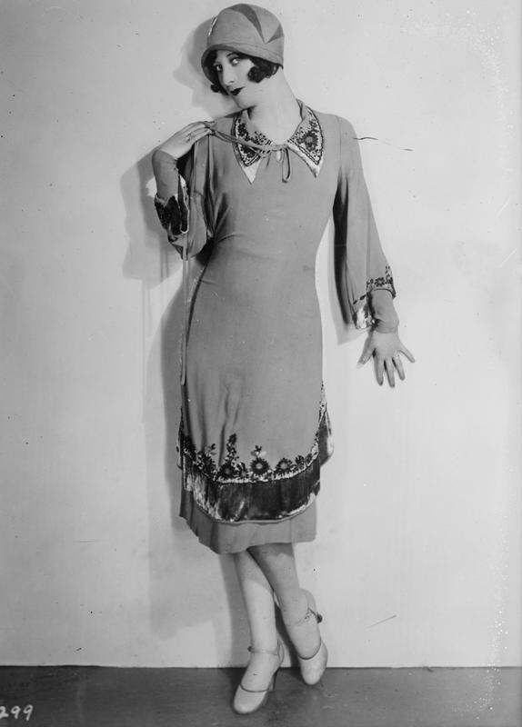 Joan Crawford - in einem Flapper-Look