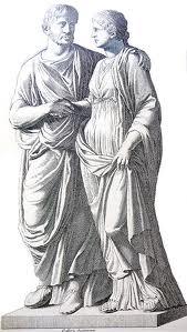 Mode im alten Rom - Skulpturen